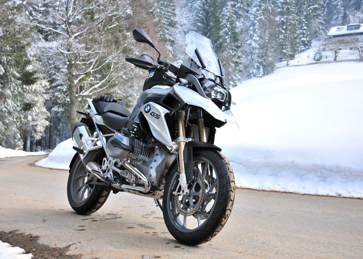Meine neue GS1200 und schon im Schnee