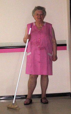 Meine Oma sah so lustig aus....