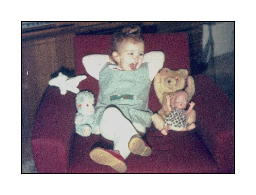 Meine Puppe, mein Teddy, meine Kuscheltiere