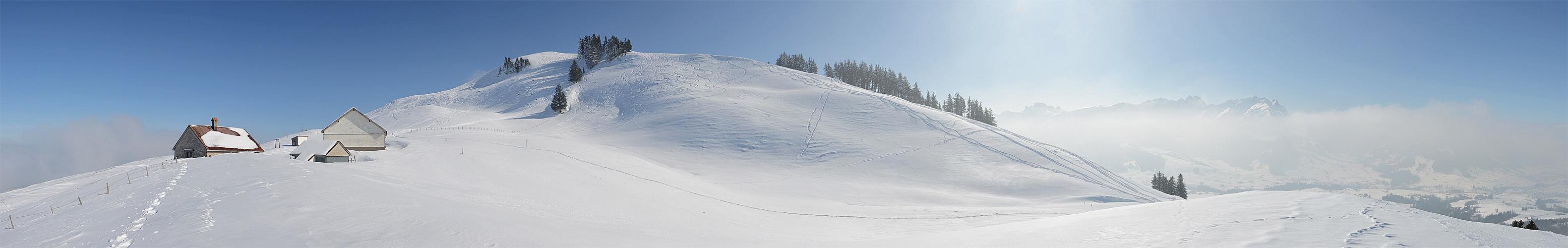 Meine Schneeschuhtour
