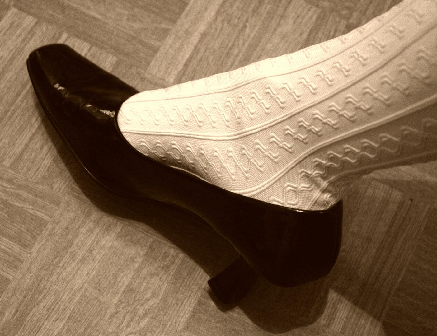 Meine Schuhe mit weiß