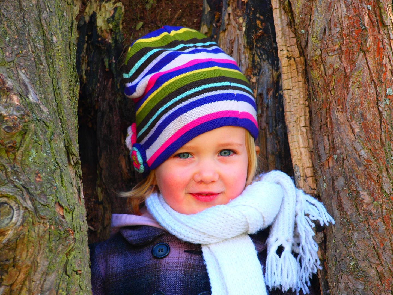 meine Schwester im Baum