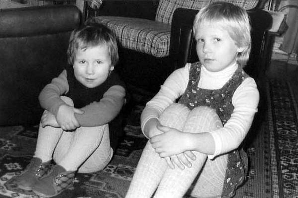 meine Schwester und ich :-)