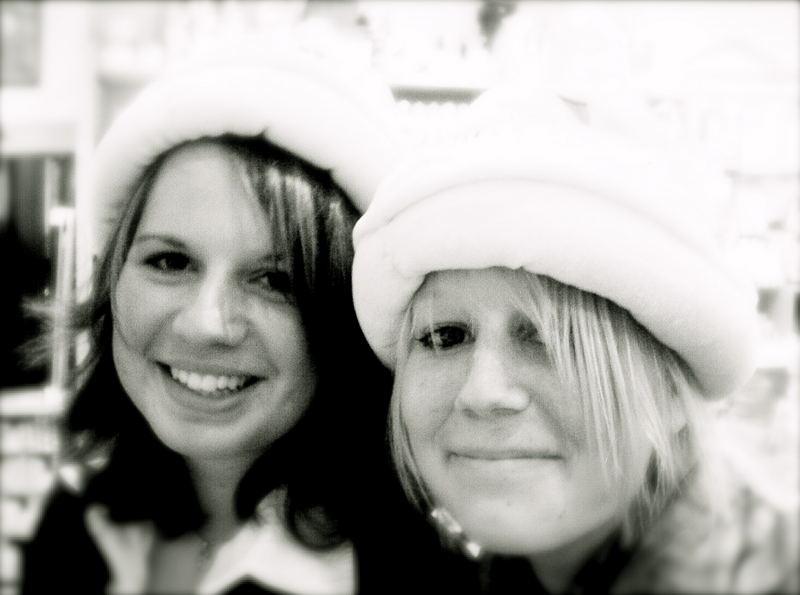 Meine Schwester und ihre Freundin