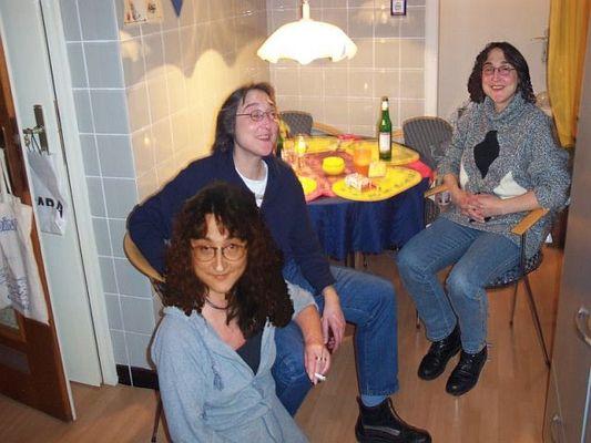 meine Schwestern und ich ;-)