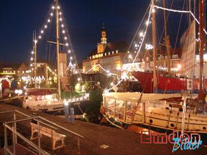 Meine Stadt Emden im Winter