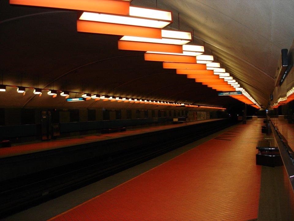 Meine U-Bahn Haltestelle in Montréal