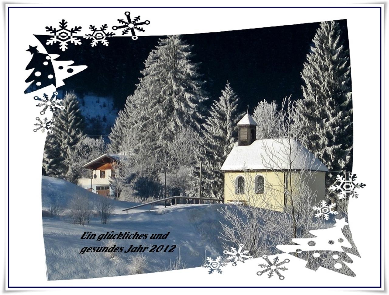 Meine Wünsche zum Jahreswechsel.
