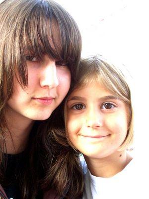 .Meine zwei Schwesterherzchen.