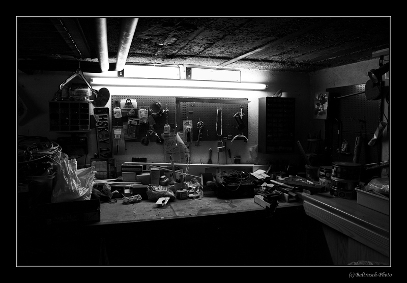 Meines Vaters Werkstatt