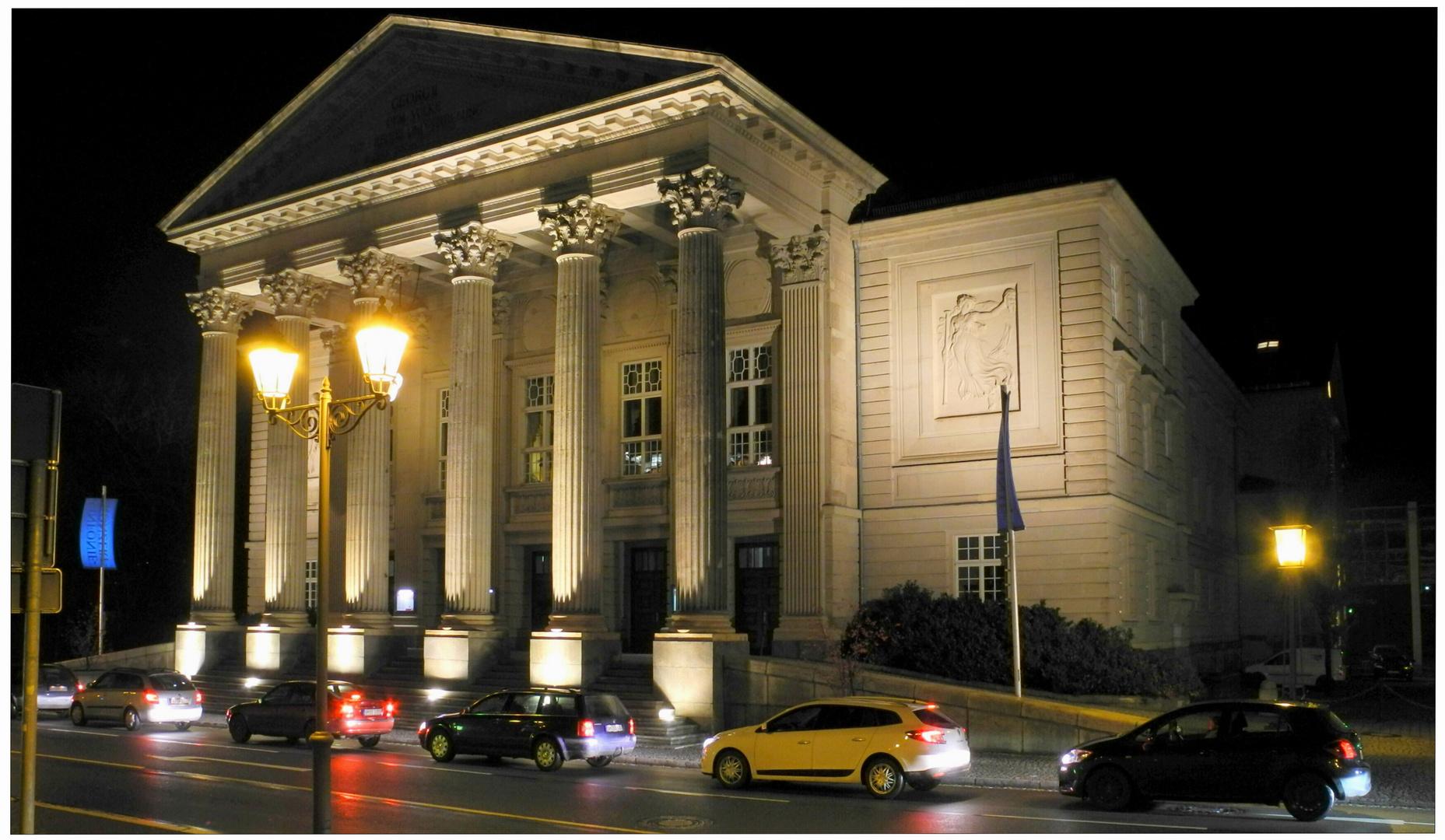 Meiningen, el teatro