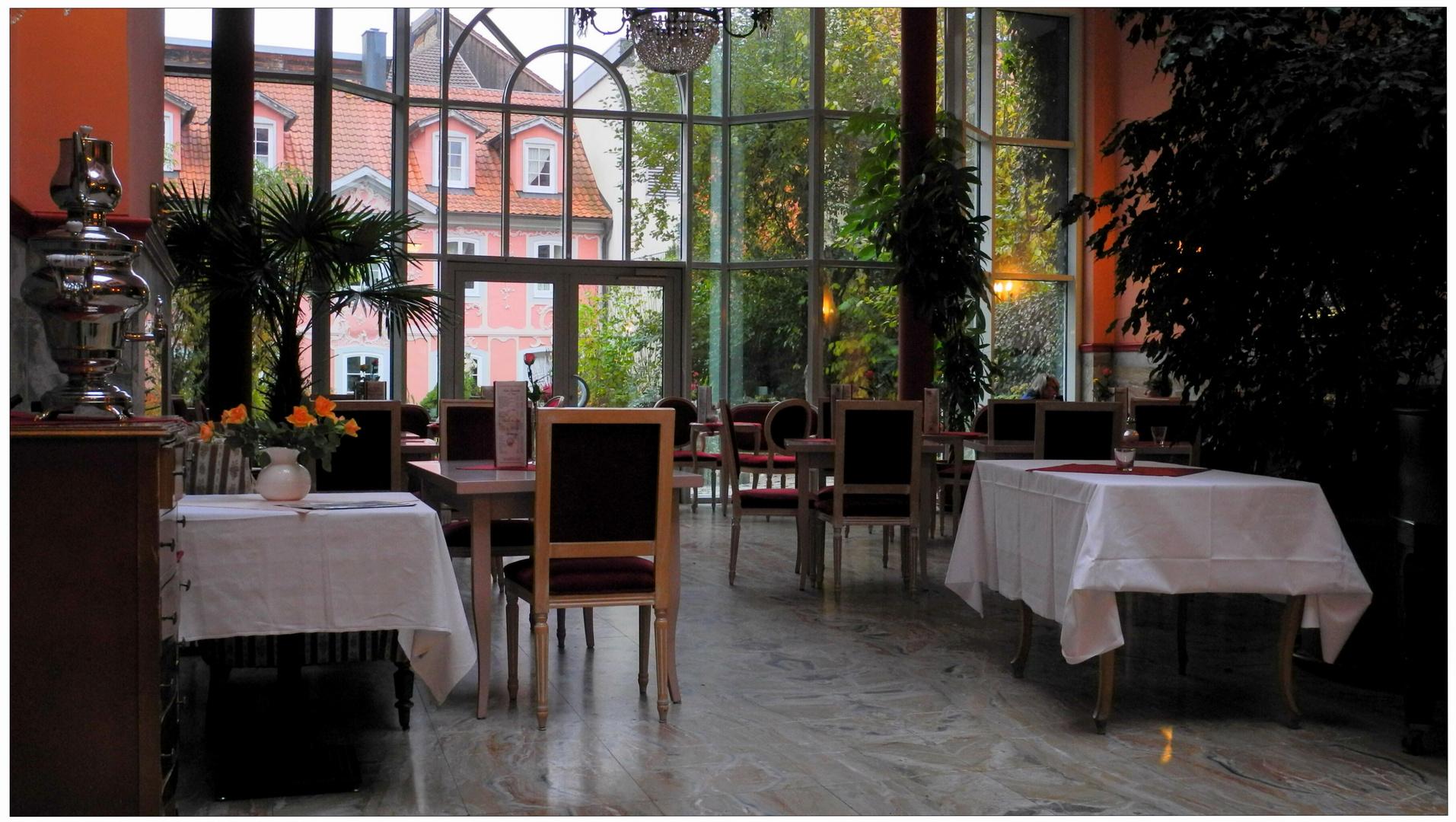 Meiningen, nuestra cafetería preferida, interior