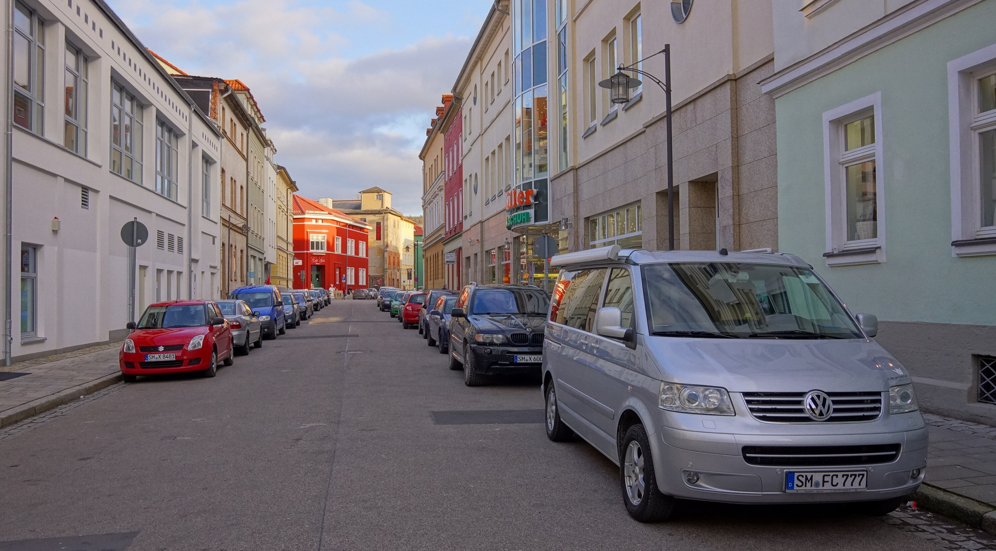 Meiningen, Straße (calle)