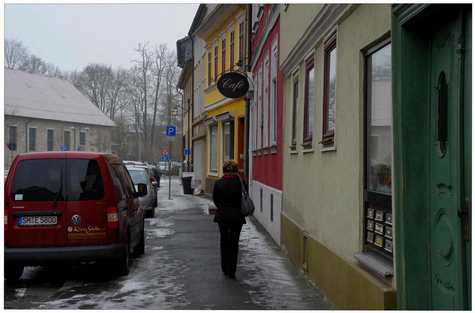Meiningen, unser Lieblingscafé (Meiningen, nuestra cafetería preferida)