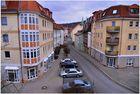 Meiningen, vista del balcón del nuevo piso de mi hija