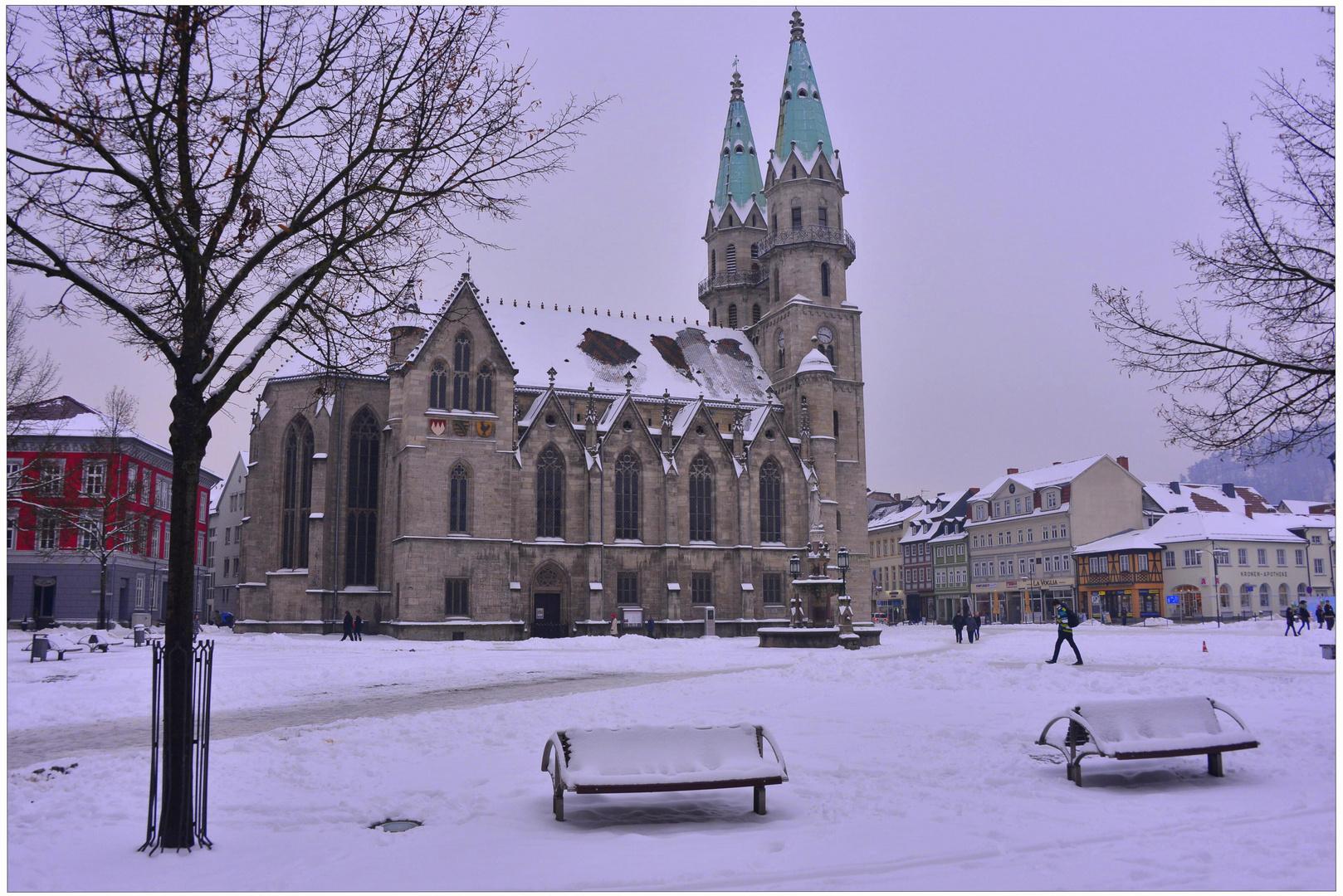 Meiningen, winterliche Impressionen III (sensacón invernal III)