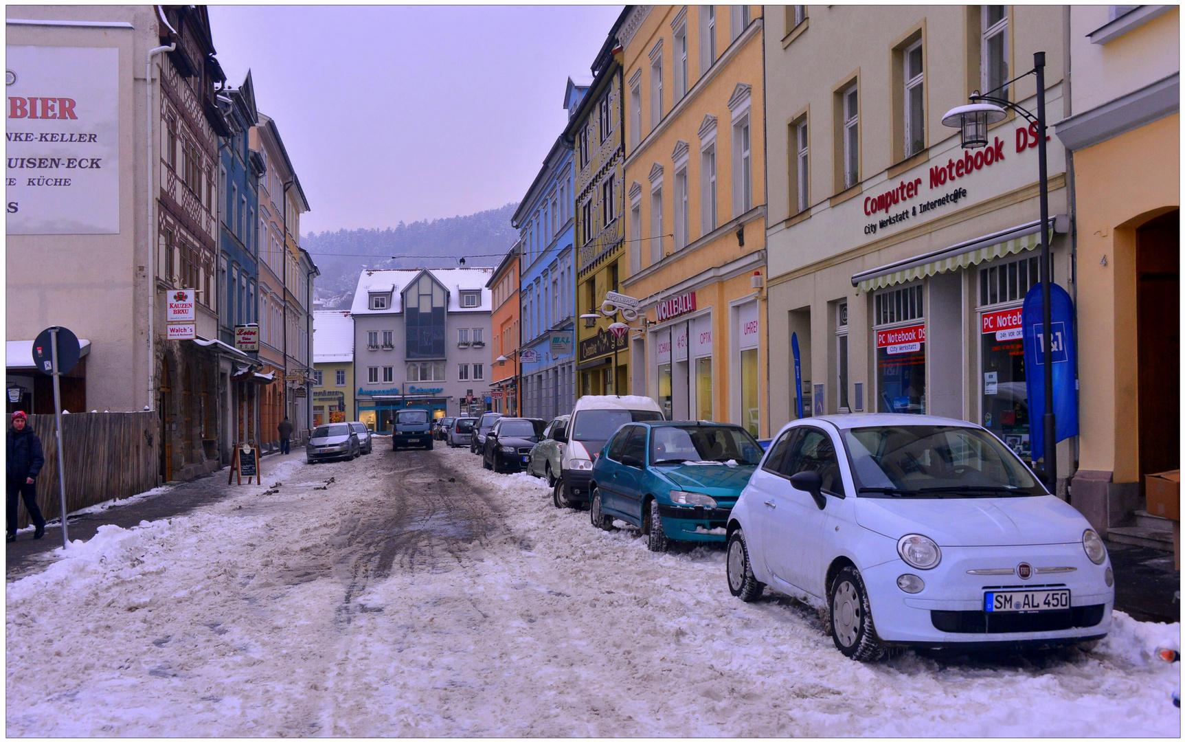 Meiningen, winterliche Impressionen IV (sensación invernal IV)