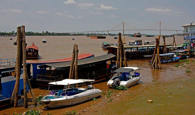 Mekong-Delta in Vietnam