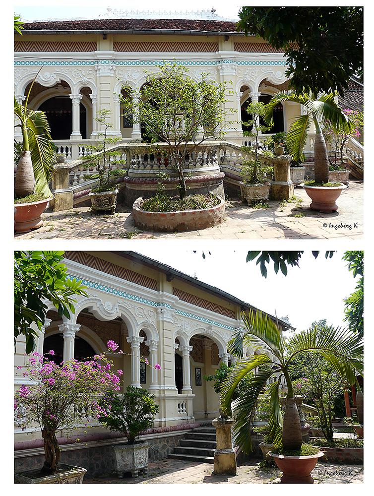 Mekong Delta - Luxusvilla am Ufer