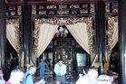 Mekong Delta - Restaurant für unsere Mittagspause am Ufer
