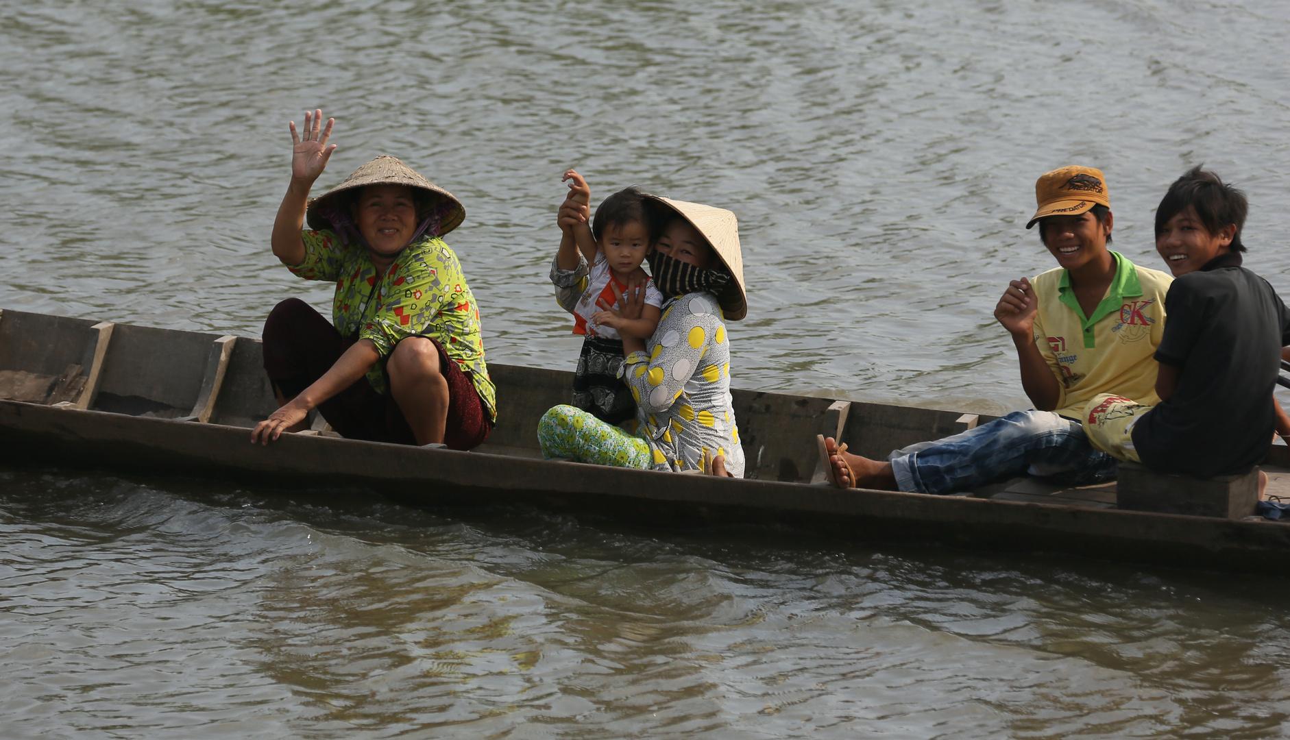 Mekong, Freundliche Menschen
