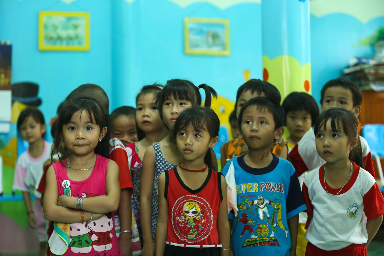 Mekong, Kindergarten
