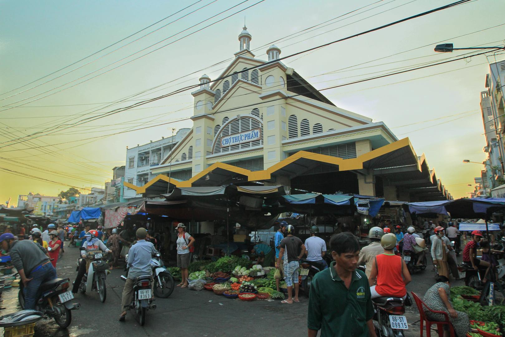 Mekong, Markthalle Sadec