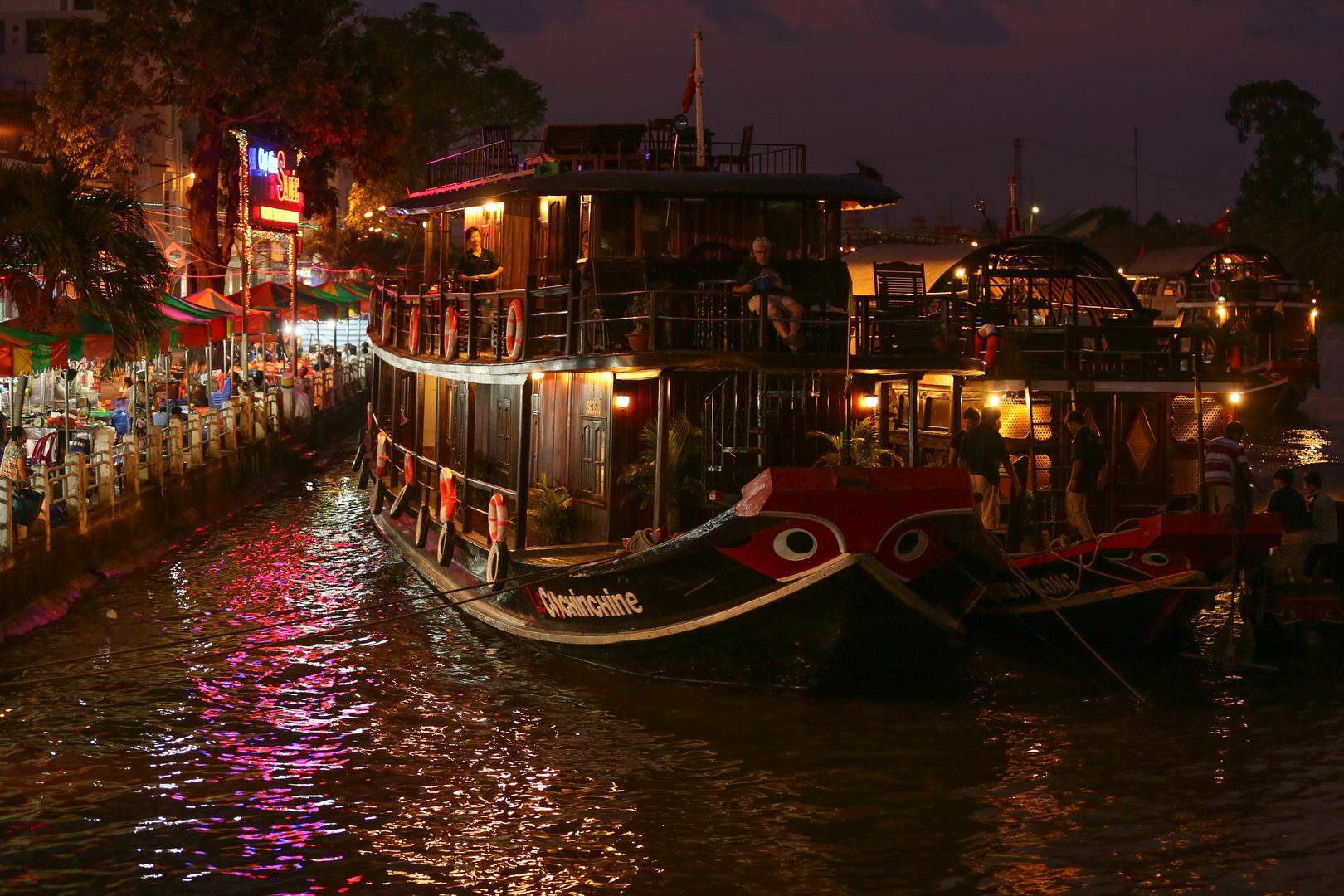 Mekong Sa Dec Hafen