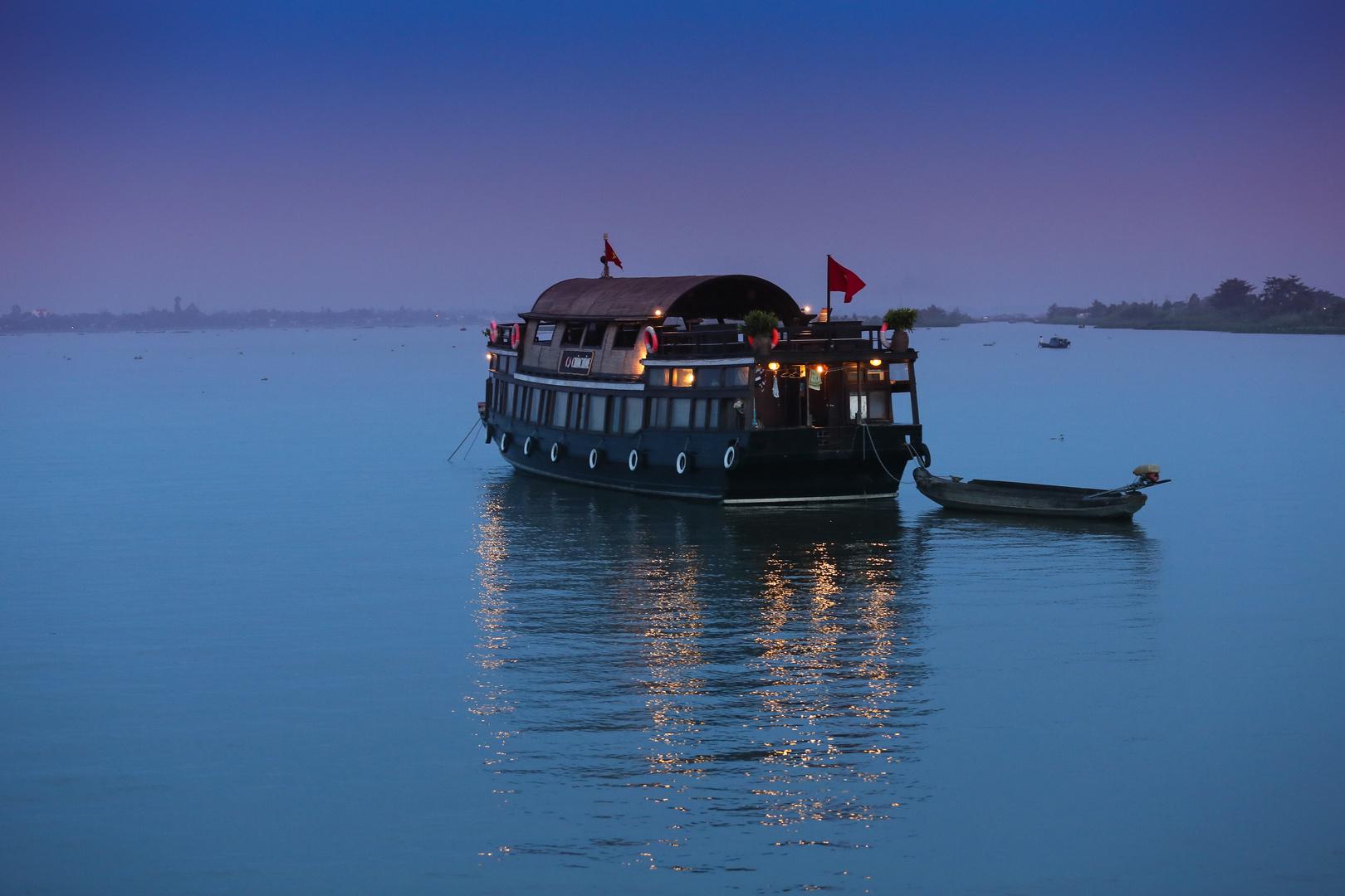 Mekong Sonnenaufgang