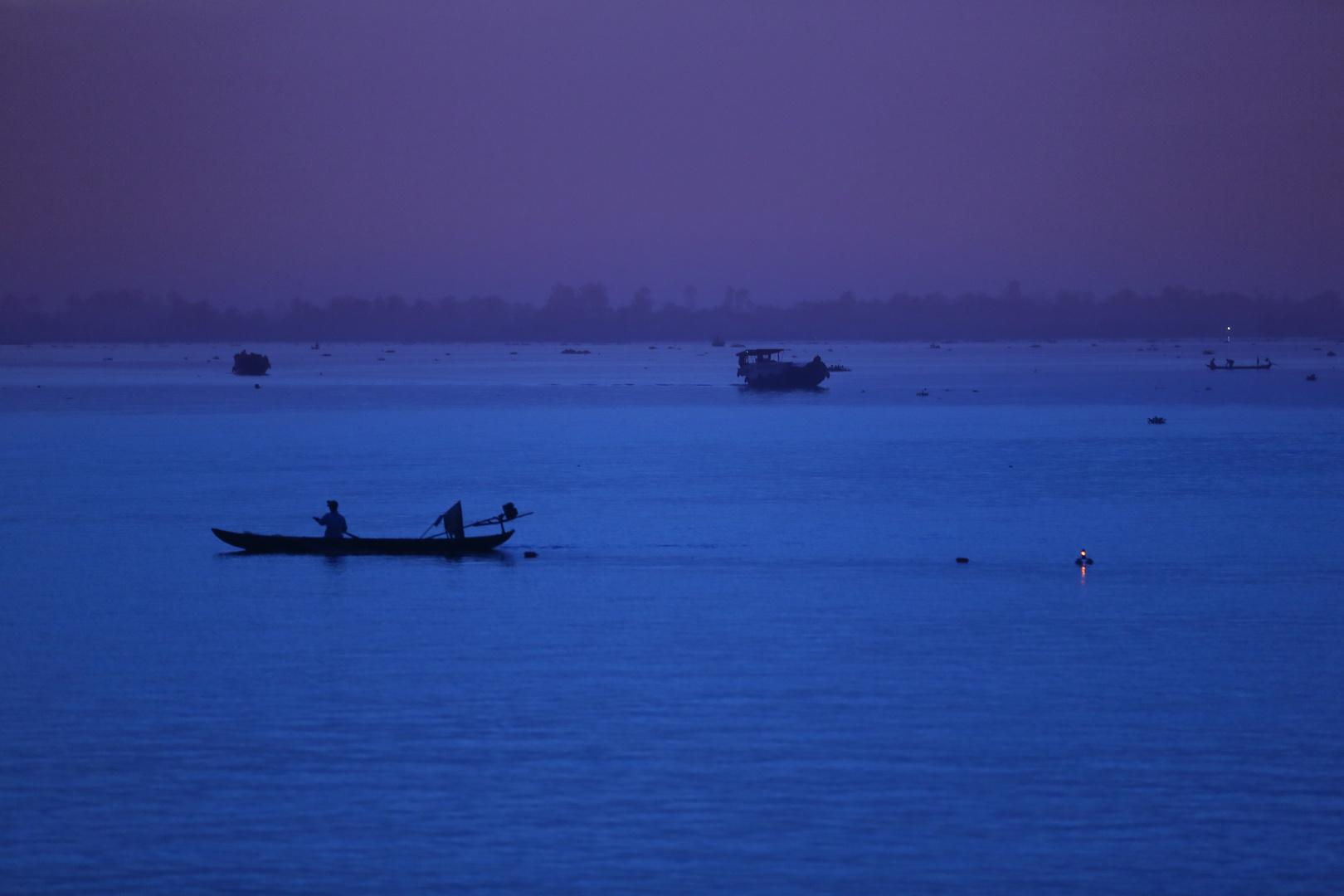 Mekong, Sonnenaufgang