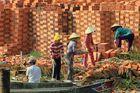 Mekong Ziegeleiarbeiterinnen