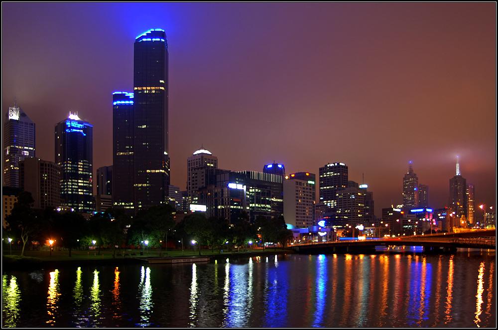 Melbourne bei Nacht (reload)