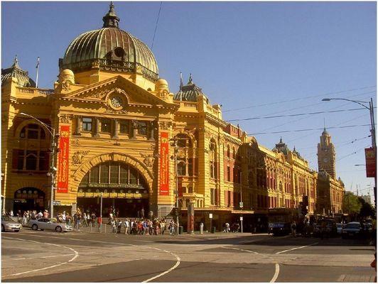 Melbourne - Flinders Street Station die 2.
