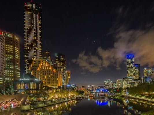 Melbourne mit Eurekatower