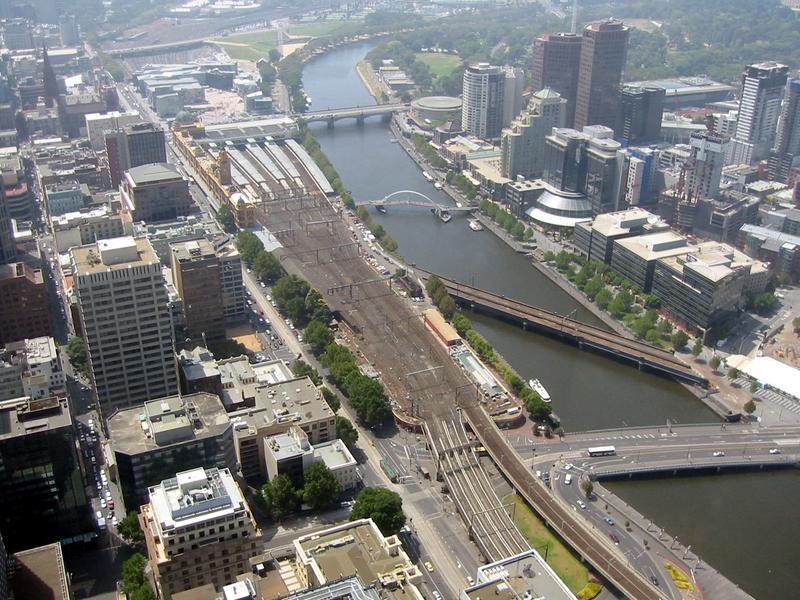 Melbourne vom Rialto Tower