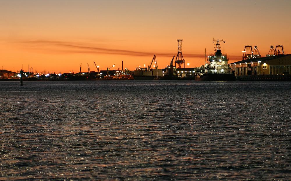 Melbourner Frachthafen
