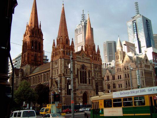 Melbourne's Türme
