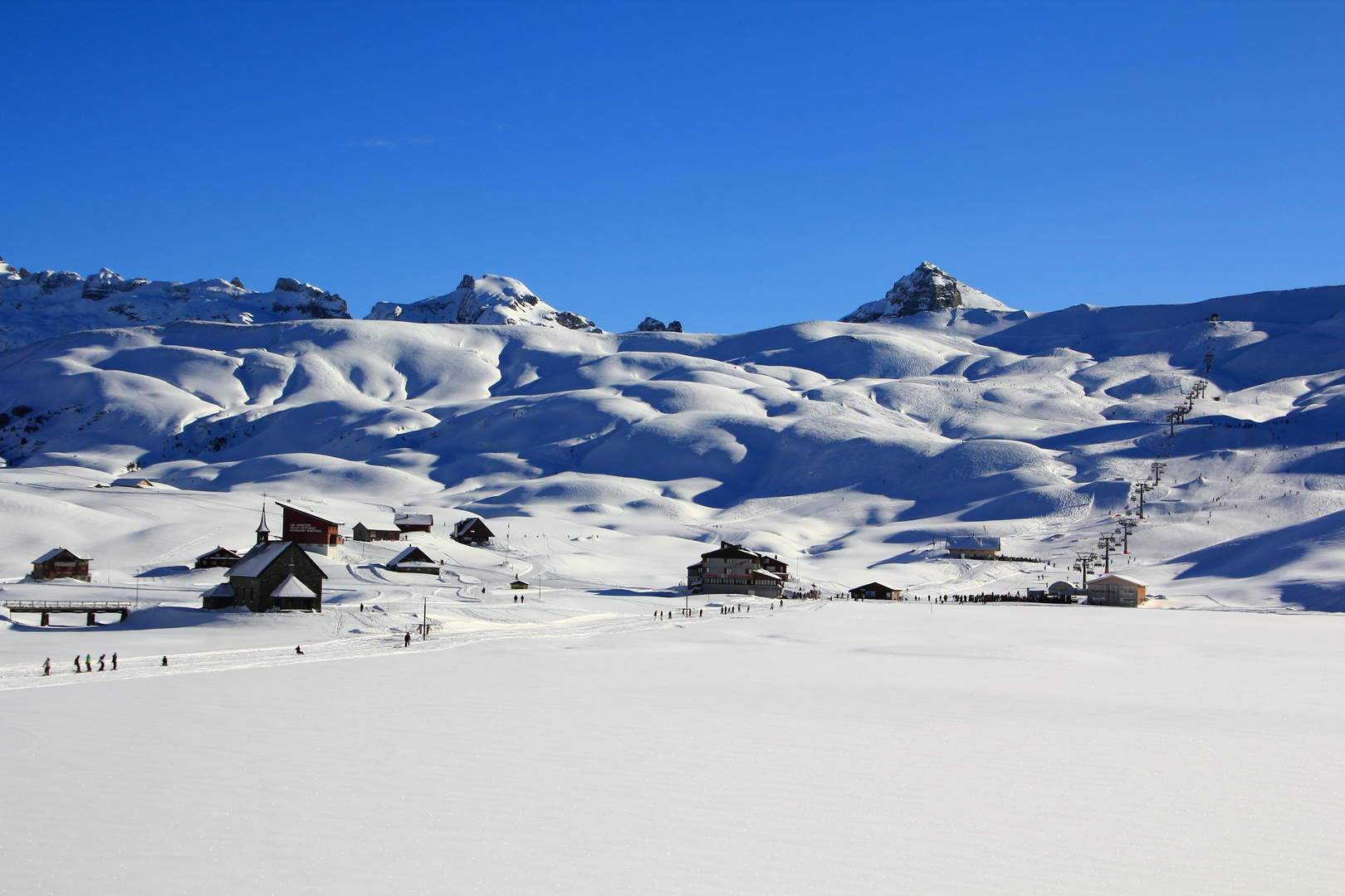 Melchsee im Winter