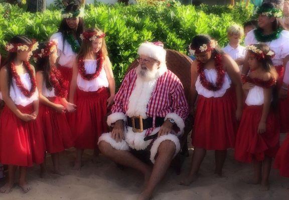 Mele Kalikimaka - Merry Christmas - Frohe Weihnachten