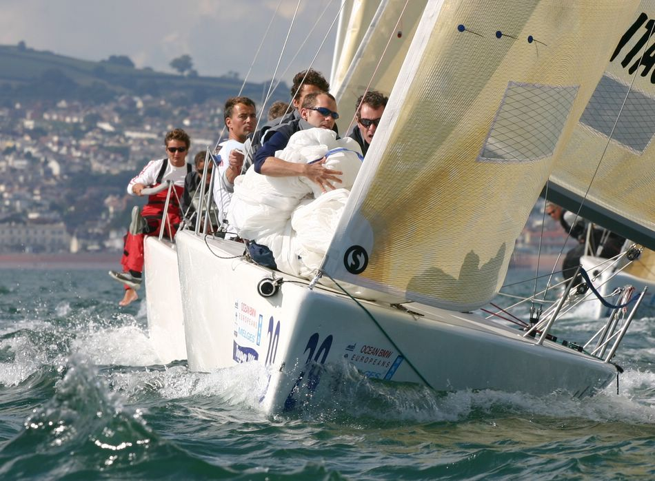 Melges 24 Euro in Torquay 2005