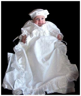Melina nach der Taufe 2