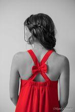 Melissa et la robe rouge