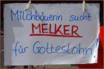 """ Melker gesucht """