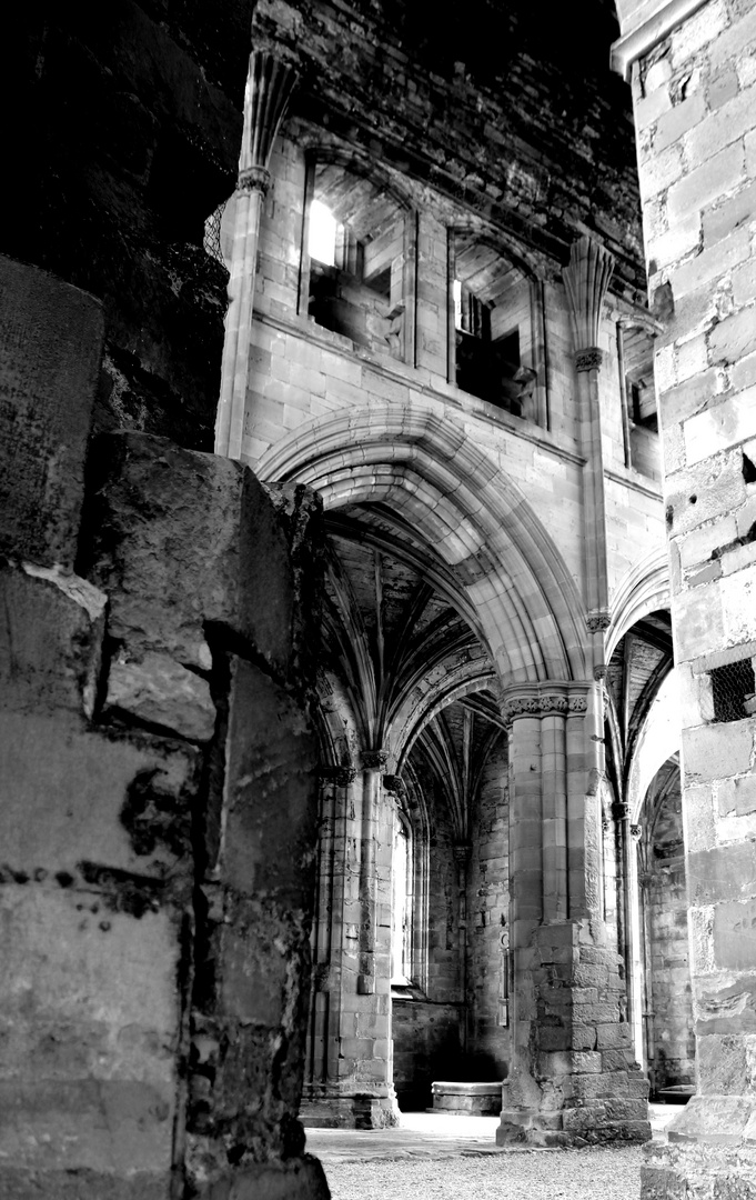 Melrose Abbey Scotland