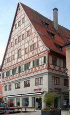 Memmingen: das Weberzunfthaus am Weinmarkt