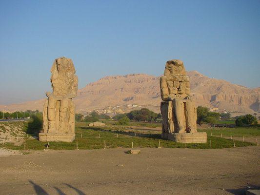Memnonkolosse in Luxor