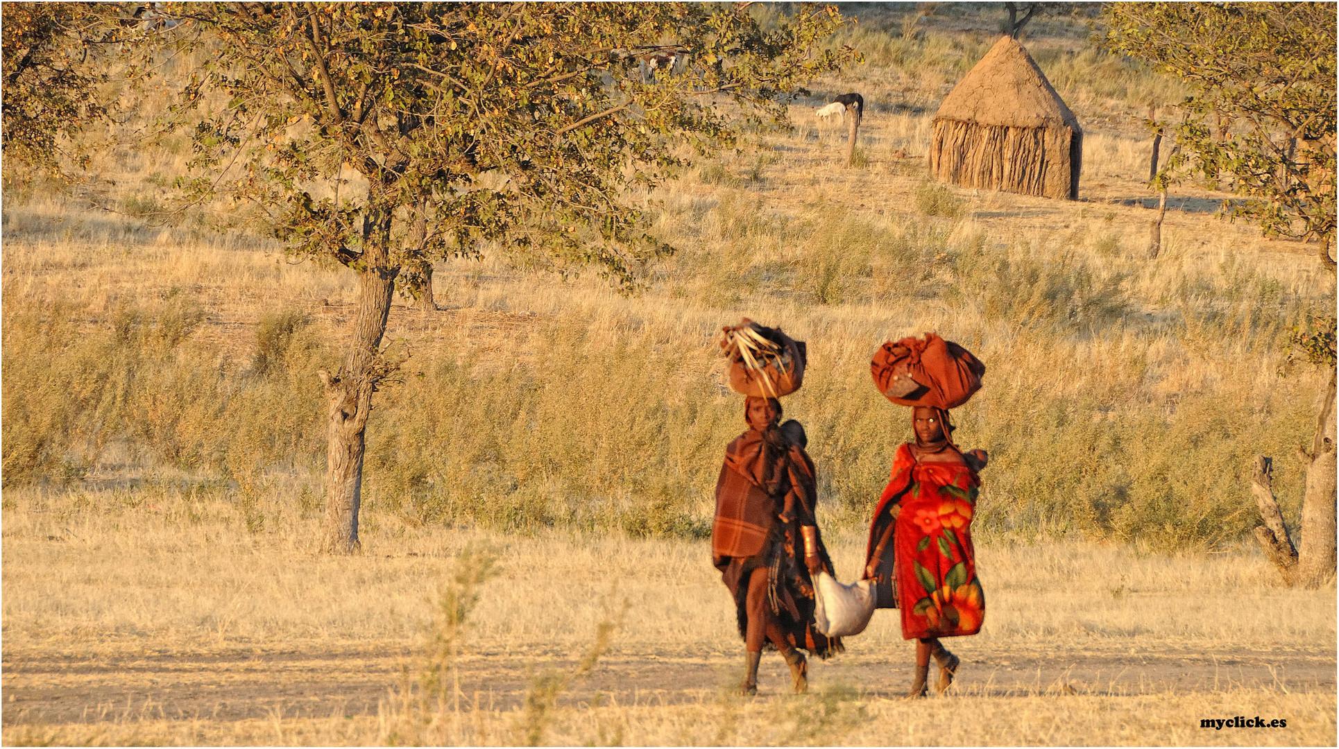 MEMORIA DE AFRICA-EN EL CAMINO DOS HIMBAS-NAMIBIA