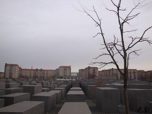 Memorial des Juifs, Berlin.