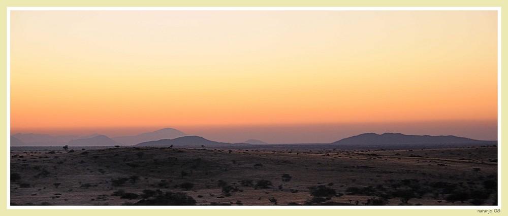 MEMORIAS DE AFRICA - AMANECER EN SPITZKOPE