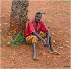 MEMORIAS DE AFRICA -EL HOMBRE DE UNA SOLA ZAPATILLA-2 -UGANDA